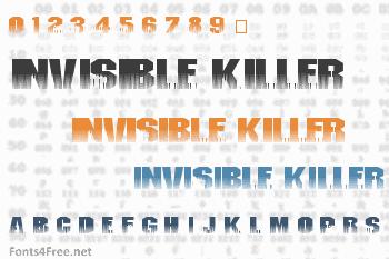 Invisible Killer Font