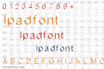Ipadfont Font
