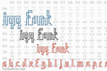 Iqq Font