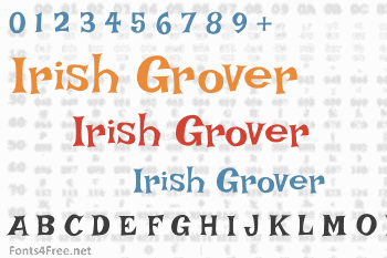 Irish Grover Font