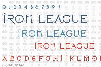 Iron League Font