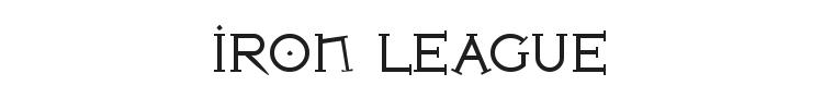 Iron League Font