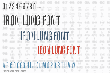 Iron Lung Font