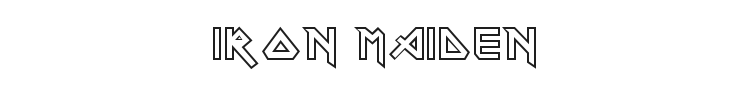 Iron Maiden Font