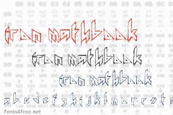 Iron Mathbook Font