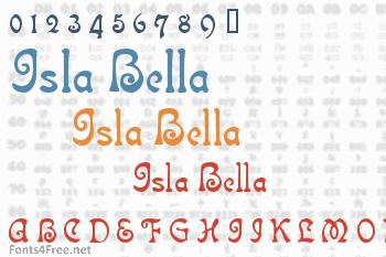 Isla Bella Font