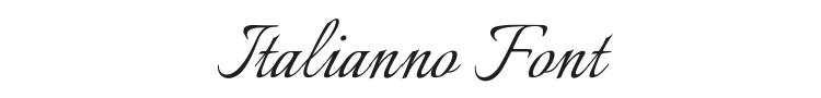 Italianno Font