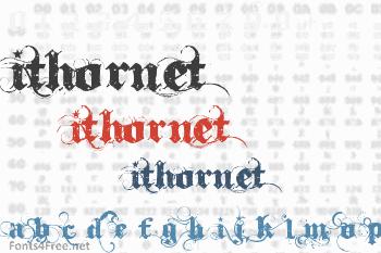 Ithornet Font