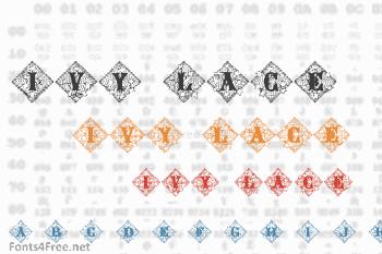 Ivy Lace Font