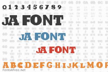 Ja Font