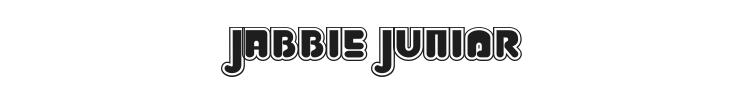 Jabbie Junior Font Preview