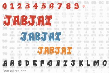 Jabjai Font