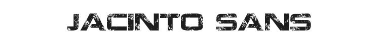 Jacinto Sans Font Preview