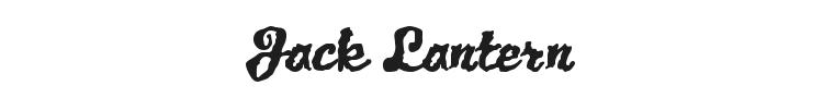 Jack Lantern Font Preview