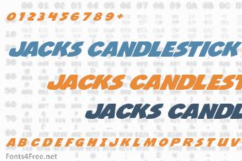 Jacks Candlestick Font