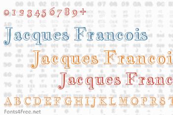Jacques Francois Shadow Font