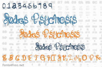 Jades Psychosis Font