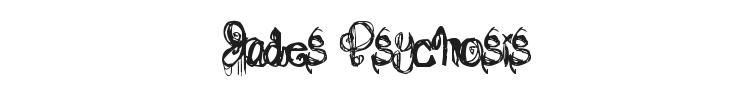 Jades Psychosis Font Preview