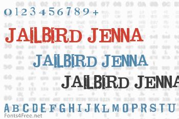 Jailbird Jenna Font