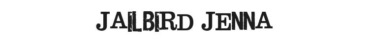 Jailbird Jenna Font Preview