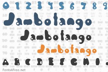 Jambotango Font