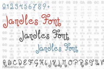 Jandles Font