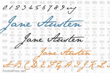 Jane Austen Font