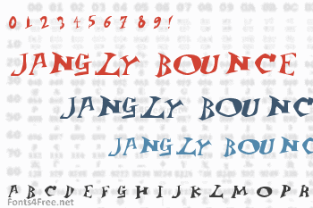 Jangly Bounce Font