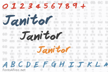 Janitor Font