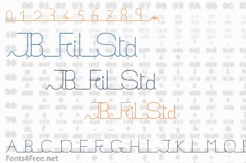 JB Fil Std Font