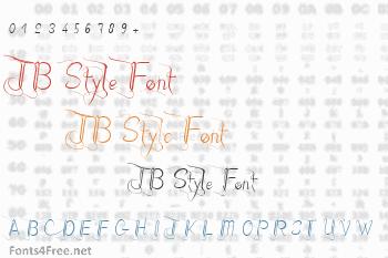 JB Style Font