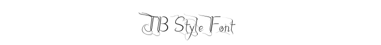 JB Style Font Preview