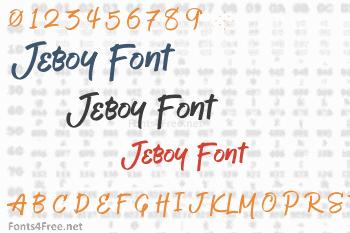 Jeboy Font