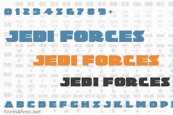 Jedi Special Forces Font