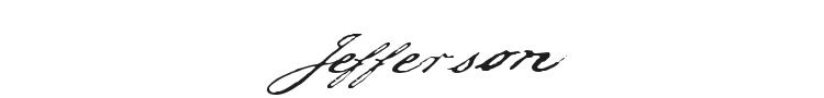 Jefferson Font Preview