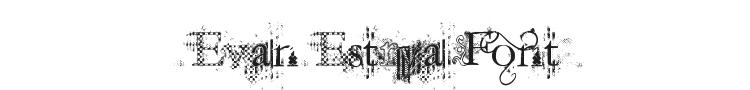 Jellyka Evan & Estrya Font