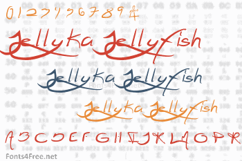 Jellyka Jellyfish Font