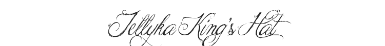 Jellyka King's Hat Font Preview