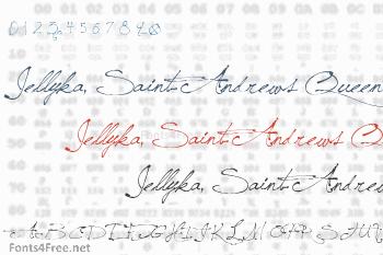 Jellyka, Saint-Andrews Queen Font