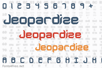 Jeopardize Font