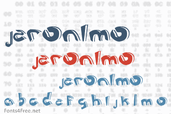 Jeronimo Cartoon Font