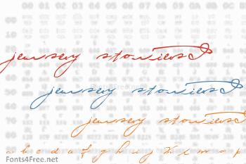 Jersey Stories! Font