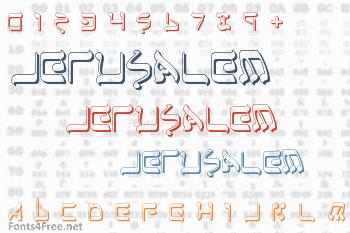 Jerusalem Font