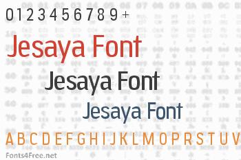 Jesaya Font
