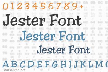 Jester Font