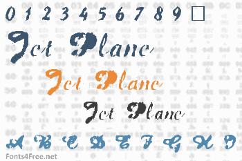 Jet Plane Font