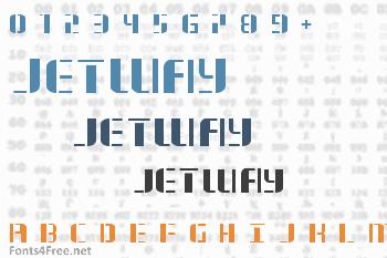 Jetway Font