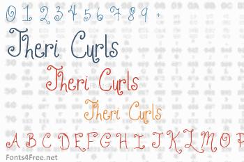Jheri Curls Font