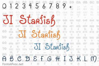JI Starfish Font