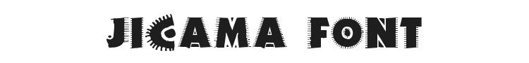 Jicama Font Preview